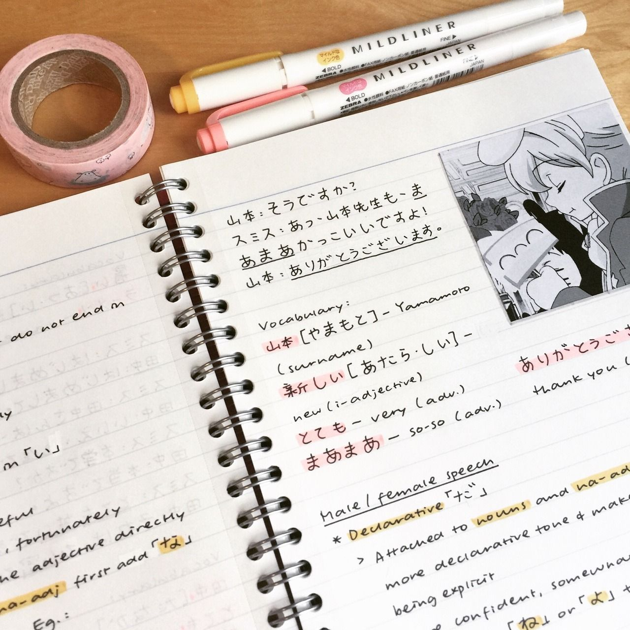 Anime Guide To Hiragana: Learning Japanese Using Tae Kim's Guide! My Friend Managed