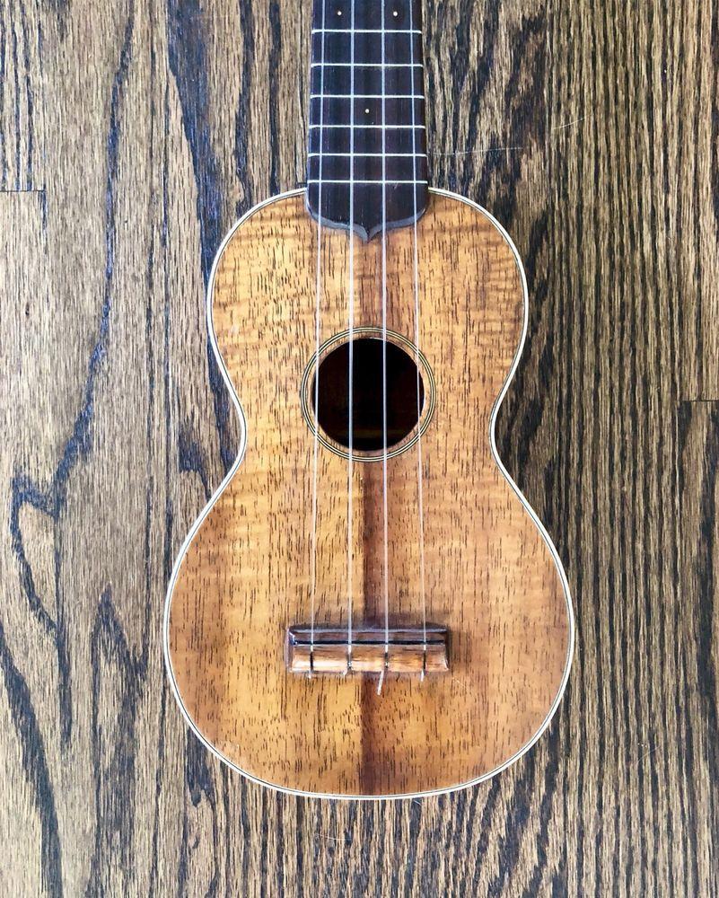 1920 S Martin Ukulele Koa Style 2k Vintage Guitars Ukulele Guitars For Sale