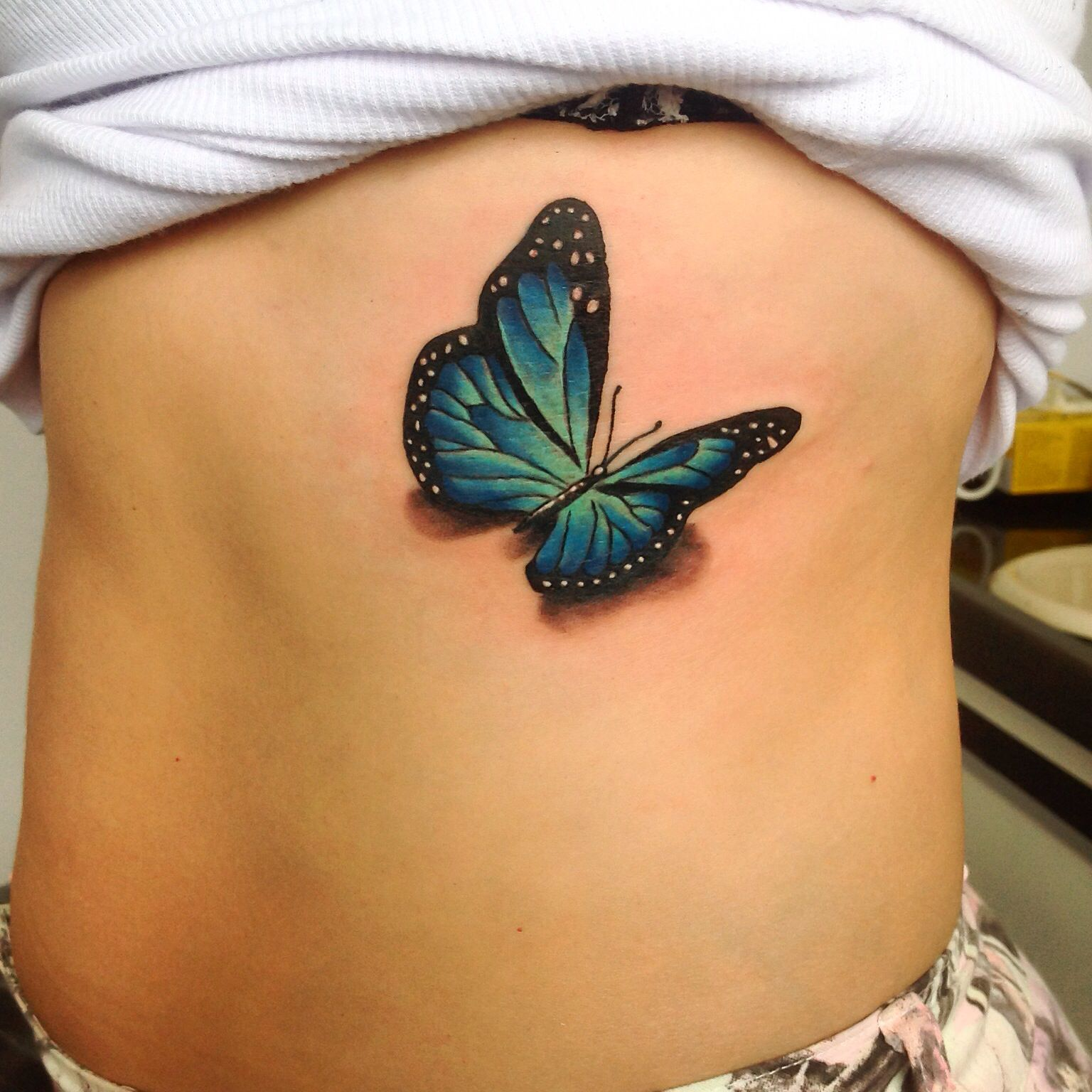 butterfly tattoo borboleta 3d gugo guarulhos sp tatuagem tattoo ideas pinterest. Black Bedroom Furniture Sets. Home Design Ideas