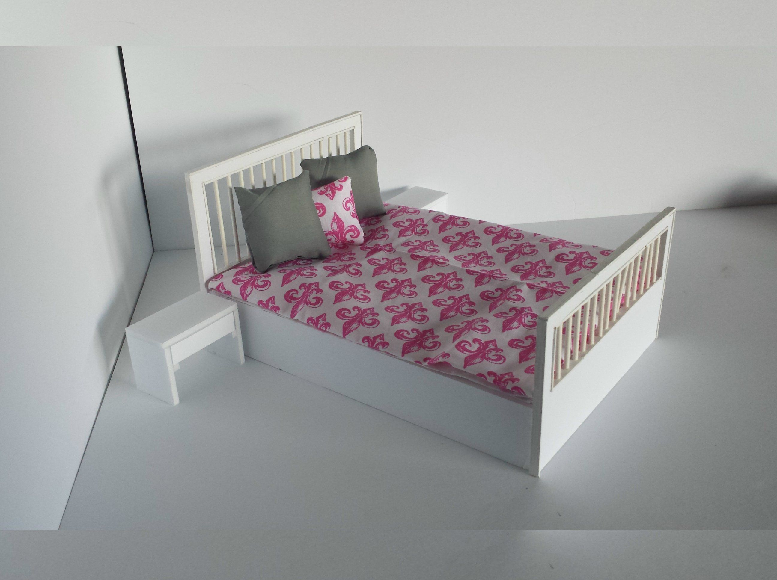 How To Make A Doll Bed With Foam Board, Craft