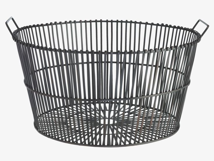 Habitat Log Basket Metal Log Basket Log Baskets Home Goods Decor