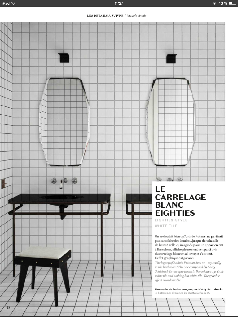 Pin By Hauvette Madani On Bathroom Round Mirror Bathroom Ghost Chair Design