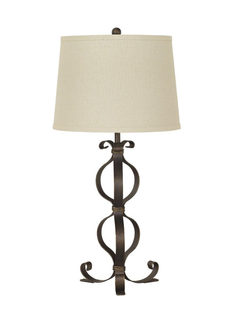 Simeron - Metal Table Lamp (Set of 2)