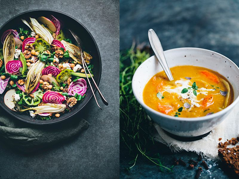Photo Fridays: 5 tips for Beautiful Food Photography Composition 1. Back AWAY from the food: literally.