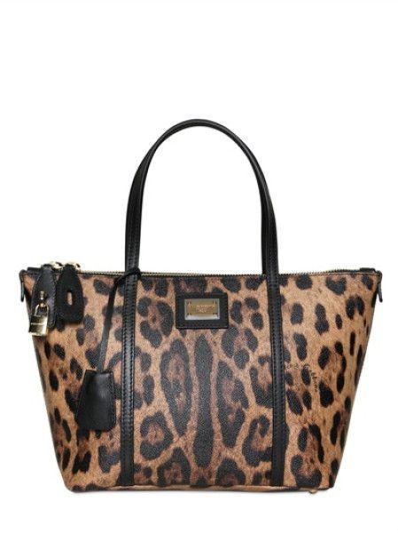 Dolce   Gabbana Animal Miss Escape Leopard Print Tote Bag 961d18e09d448