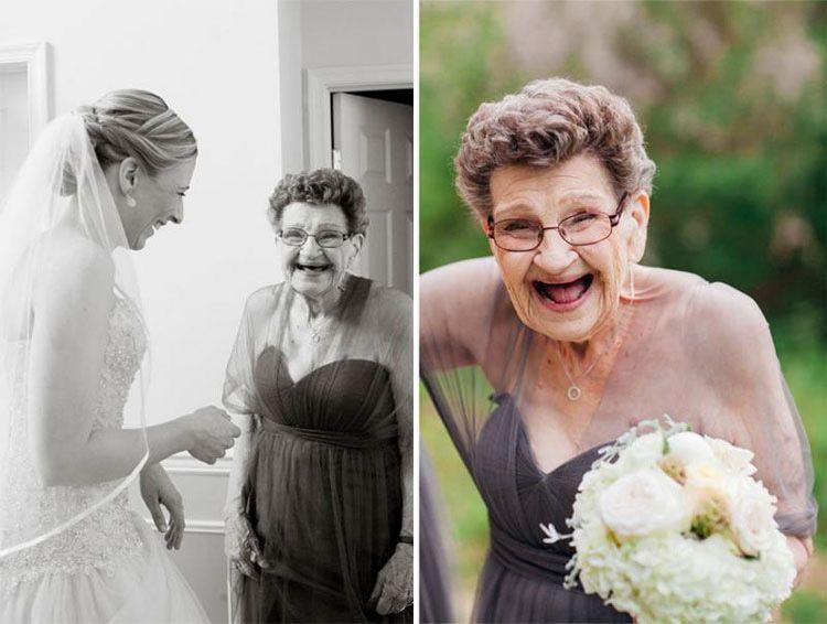 Una novia le pregunta a su abuela si quiere estar en su fiesta de ...