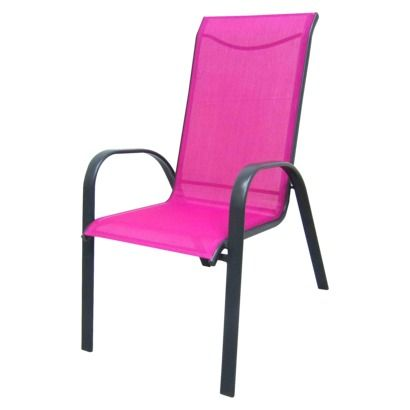 Room Essentials® Nicollet Patio Stacking Chair - Pink | Seattle ...