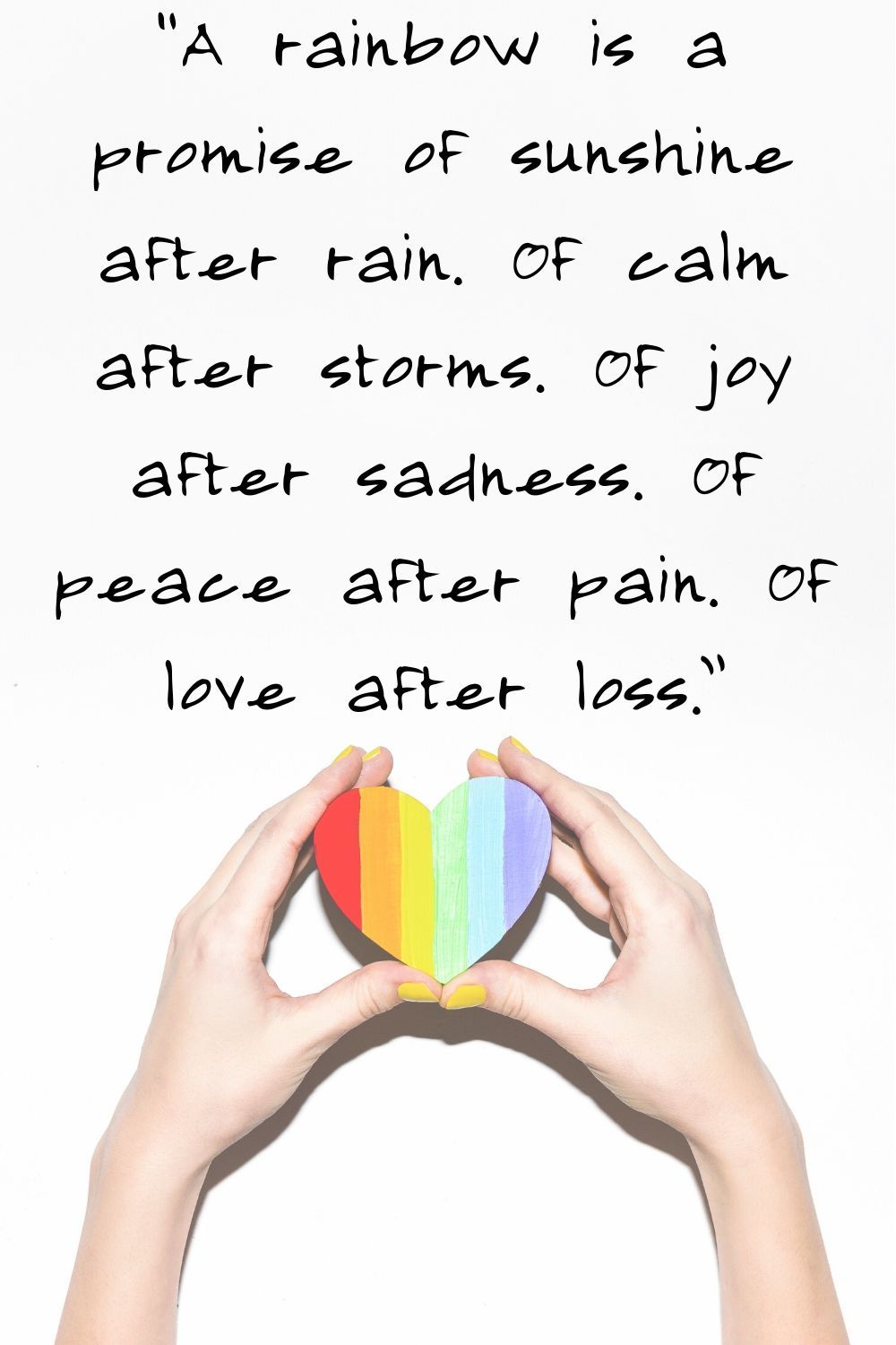 60 Rainbow Quotes And Sayings That Will Brighten Your Day Rainbow Quote Emotional Quotes Happy Wife Quotes