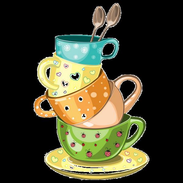 Tasses Tubes Cups Tazza Taza Copo Tea Cup Drawing Tea Art Tea Cups