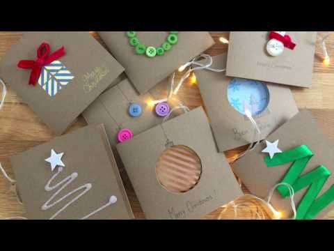 Biglietti Di Natale Youtube.Biglietti Di Natale 2 Youtube Christmas Gift Card Diy Christmas Cards Christmas Card Crafts