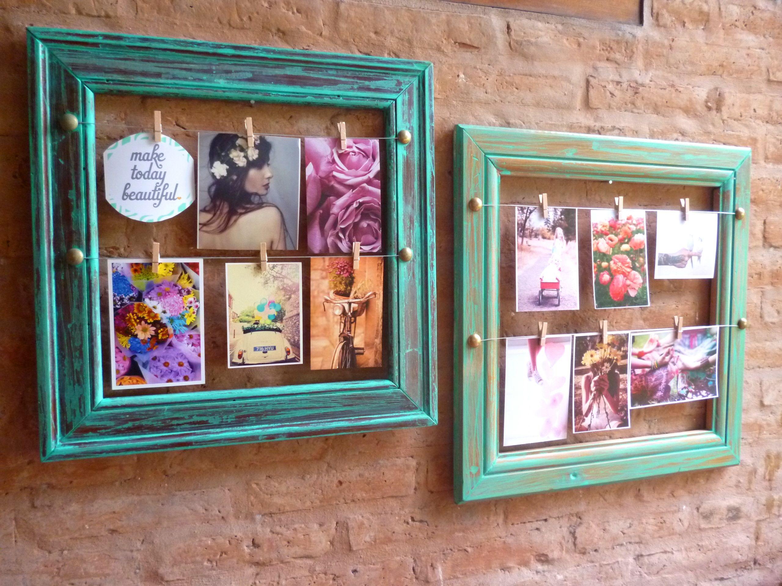 Vintage Frames | Decoracion de marcos | Pinterest | Cuadro, Marcos y ...