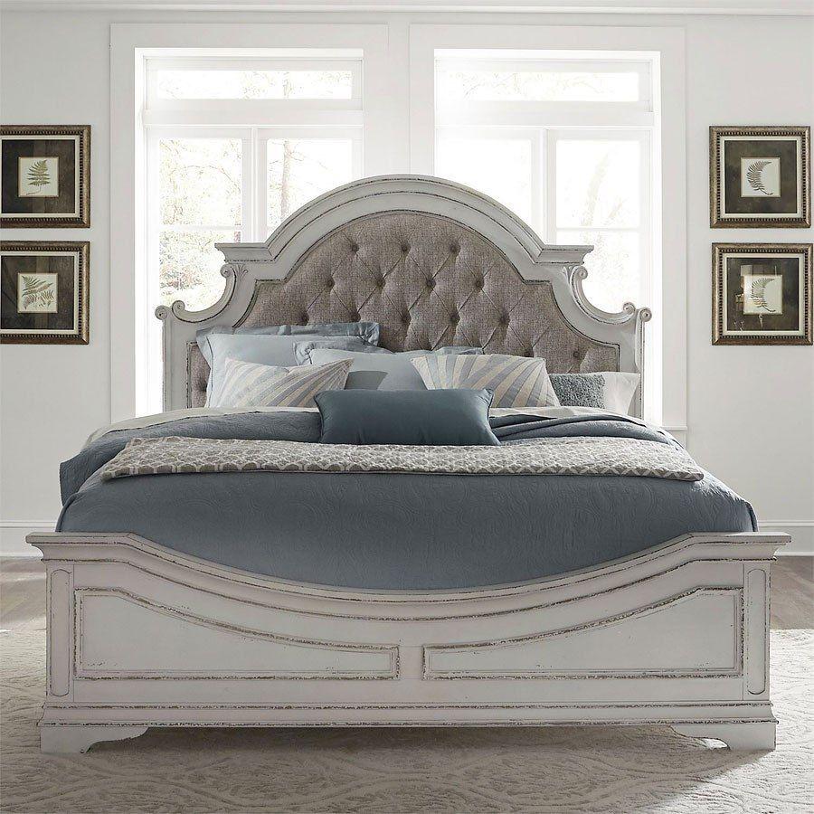 Magnolia Manor Panel Bed Liberty furniture, Bedroom