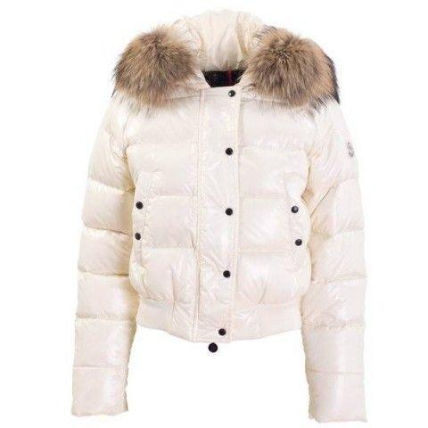 1815819ba424 Moncler Women Alpin Alpes Down Jacket White Grey
