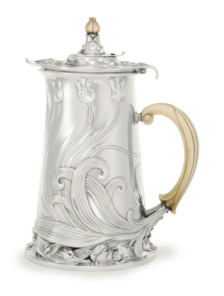 used kitchen cabinets a silver nouveau chocolate pot cardeilhac 27799