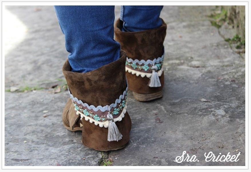 botas con adornos http://www.sracricket.com/adornos-cubrebotas/