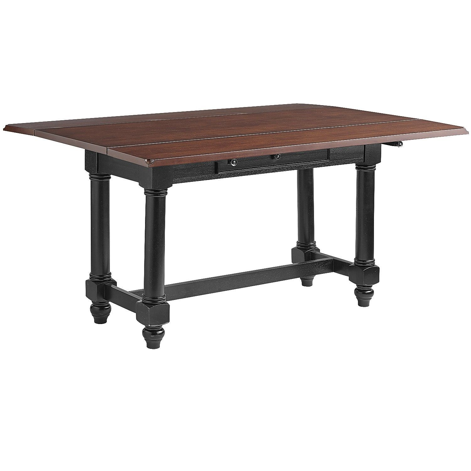 Blake Drop Leaf Table Rubbed Black 40 x60 pier one 420 00