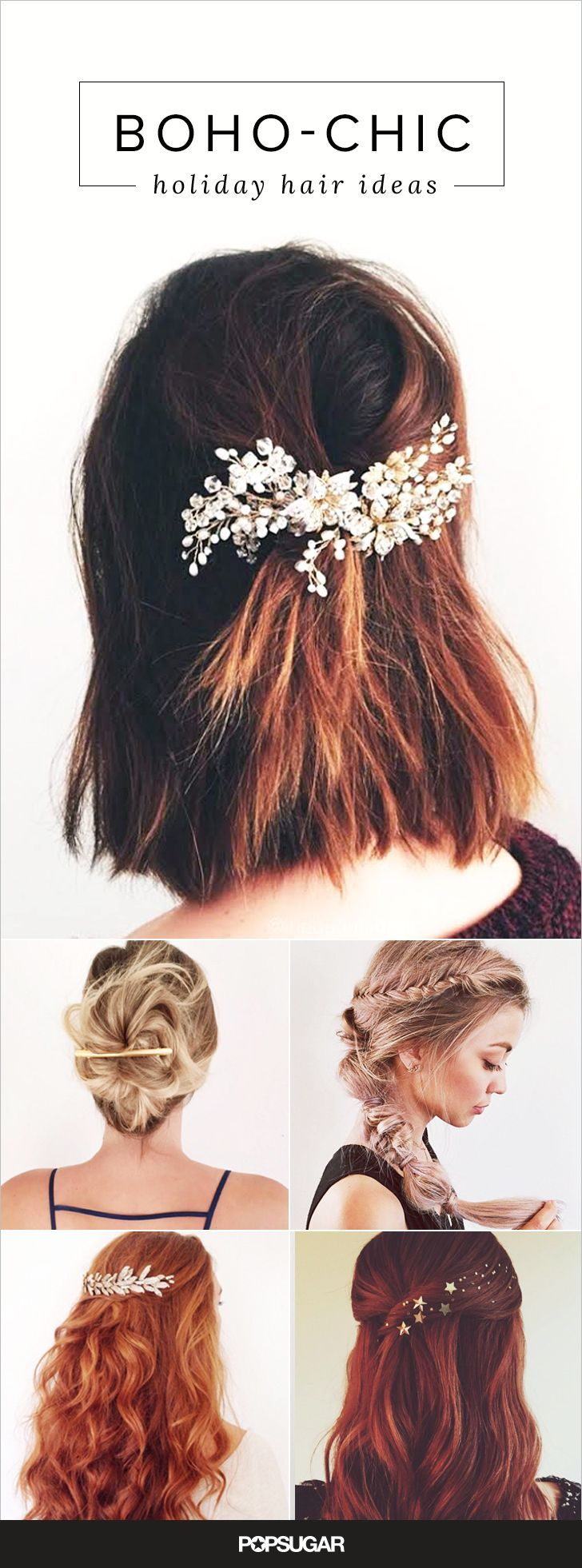 These chic holiday hairstyles will make you want to fast-forward to the holidays. #HolidayHair #Holidays #Hair #HairStyles #Beauty #Beautyinthebag