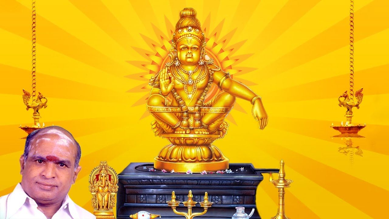 #Ayyappa #Devotional #Songs - K. Veeramani - சுவாமி