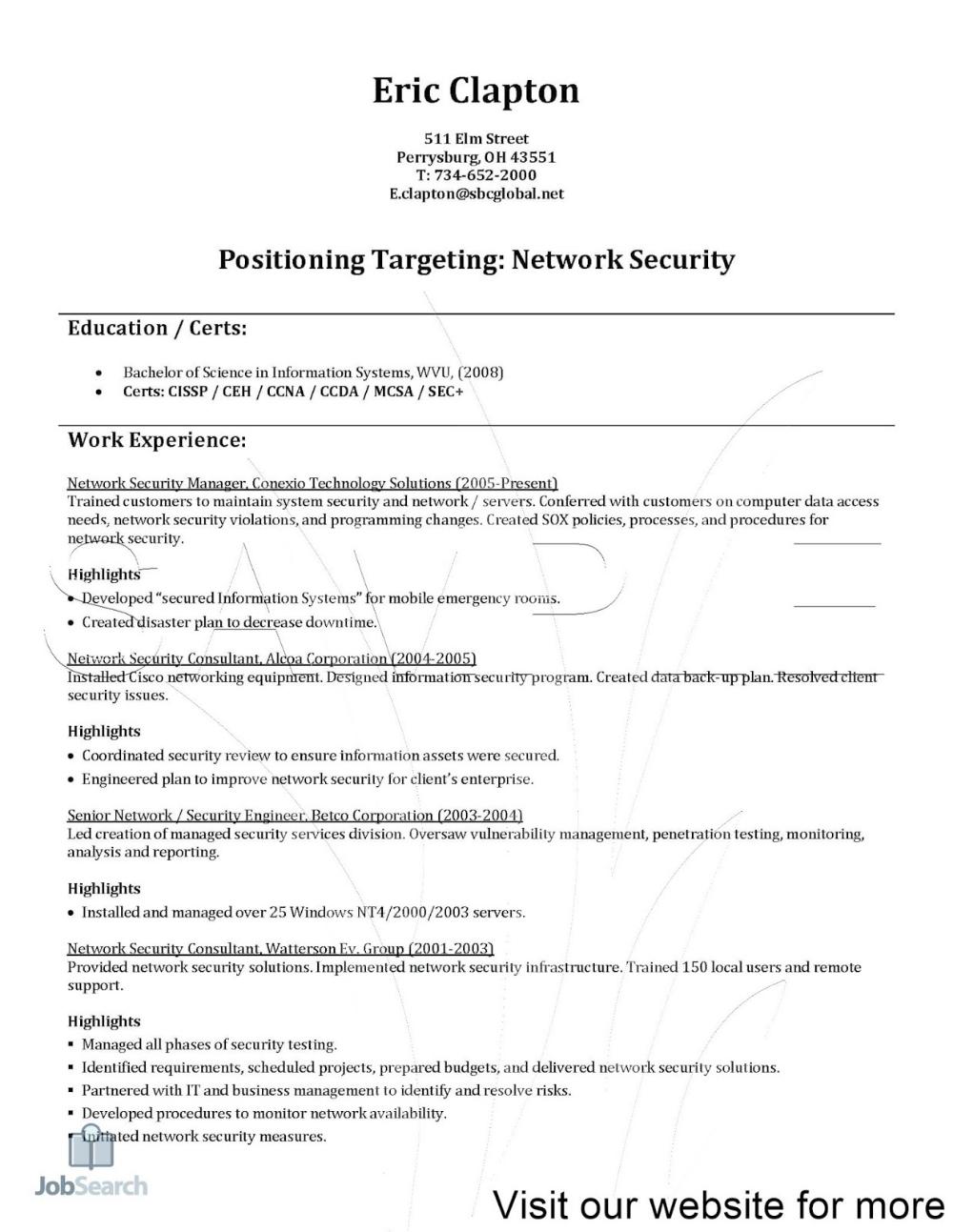 Network Architect Resume Pdf Network Architect Objective Network Architect Resume Network Architec In 2020 Resume Design Template Resume Template Free Resume Template