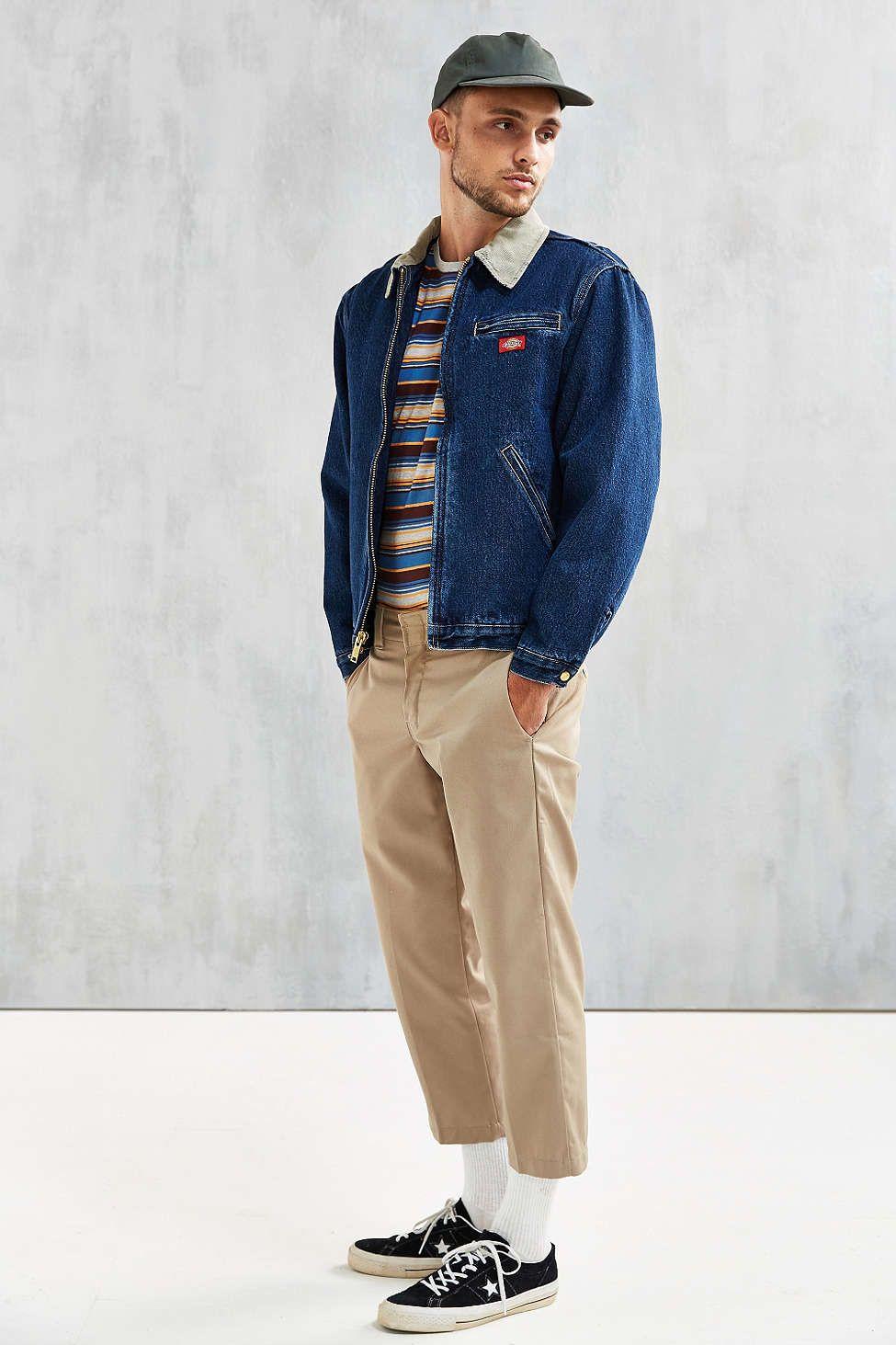 2700790abe6 Dickies Stonewash Denim Jacket - Urban Outfitters