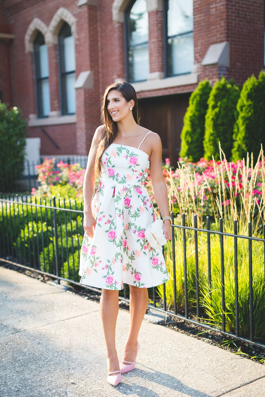 Floral Strapless Dress | Pinterest | Strapless dress, Dress wedding ...