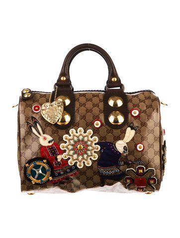 f3223fdb2fd Must Have  Gucci Babouska Boston Bag.