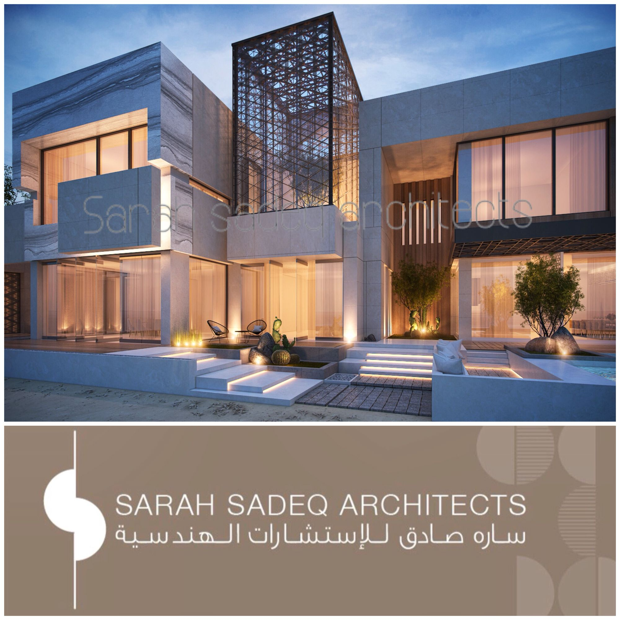 Pin By Mohamed O On Modern Villas: Jumaira Dubai , Sarah Sadeq Architects