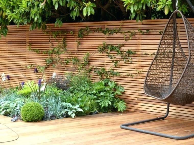 Mur En Gabion Brico Depot Maison Design Palissade Jardin La Tuinomheining Tuin Ideeen Schutting Tuin