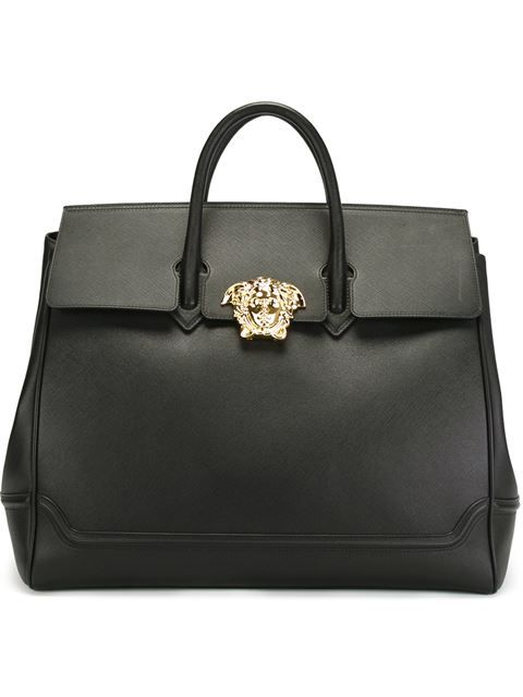 6b589d3308 VERSACE Medusa Tote.  versace  bags  leather  hand bags  tote ...