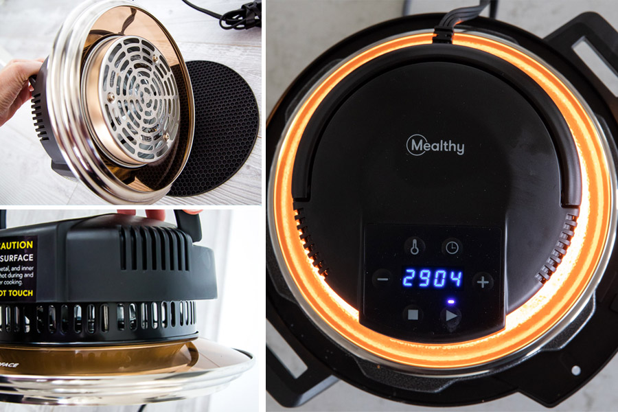 REVIEW New Mealthy CrispLid Air Fryer Lid for Your