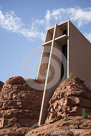 Chapel of the Holy Cross in Sedona (Exterior)