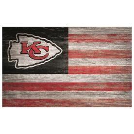 Fan Creations Kansas City Chiefs 19In H X 11In W Sports