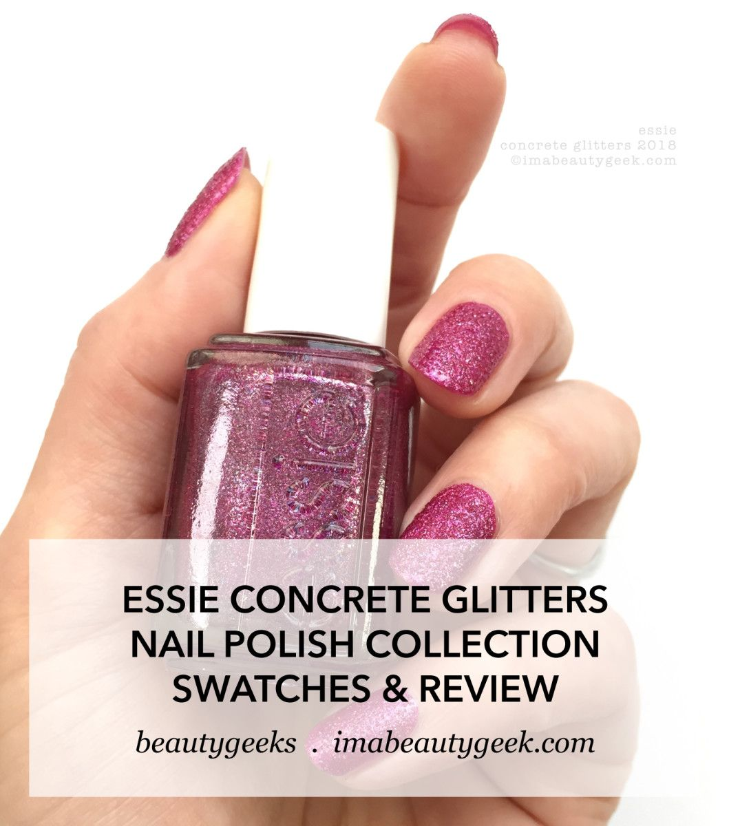 Concrete and Nail Polish: New Favorite Manicure OF All