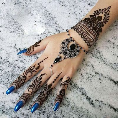 Mehndi Design Simple 06 Mehndi Designs Henna Tattoo Designs Hand Henna