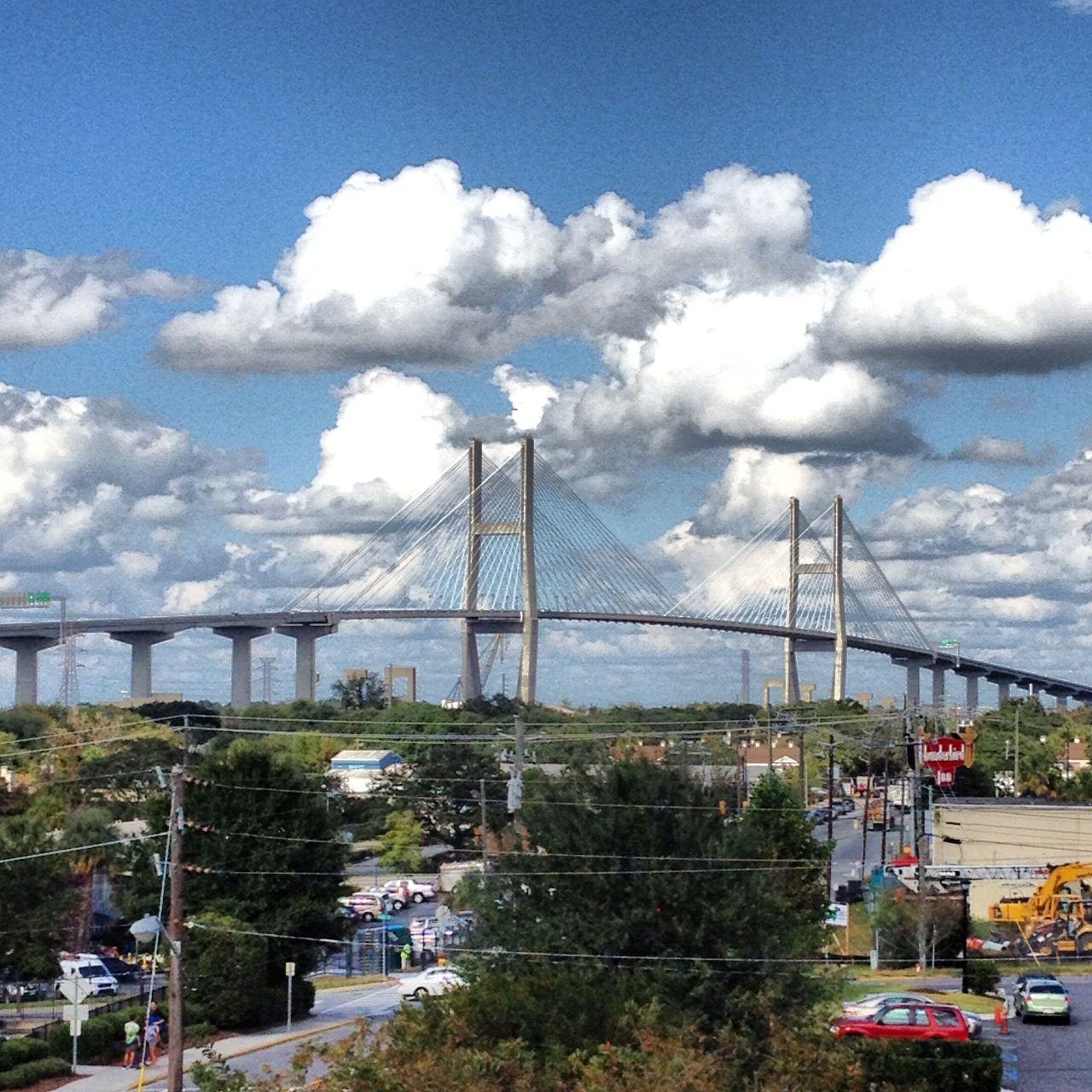 Talmadge Bridge Savannah Ga