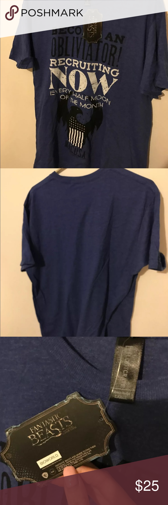 Fantastic Beasts Loot Crate shirt Brand new! 🌼Thank you for looking!  🌼I ship within 2 days shipping excluding holidays 🌼I do not trade! 🌼I only accept offers through the offer button! 🌼Thank you for shopping and feel free to ask any questions! Loot Crate Shirts Tees - Short Sleeve