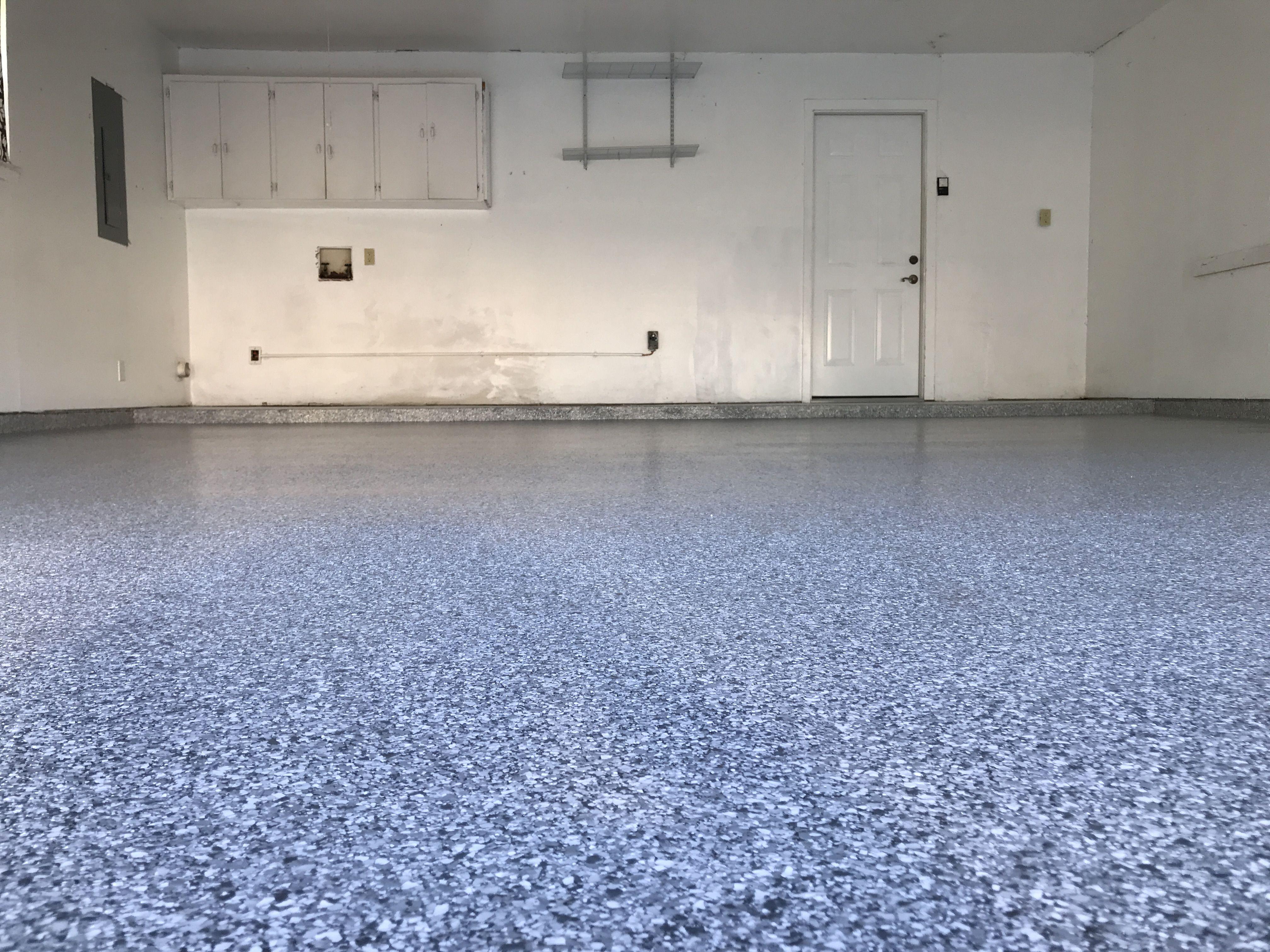 Moonstone polyaspartic garagefloors customfloor