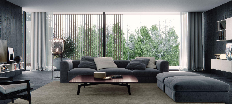 re-creation of a poliform living room | Гостиная | Pinterest