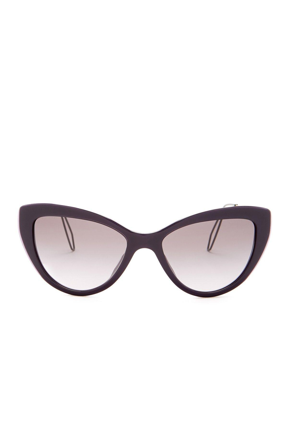 8080497f8b7a Women s Cat Eye Acetate Frame Sunglasses by MIU MIU on  nordstrom rack