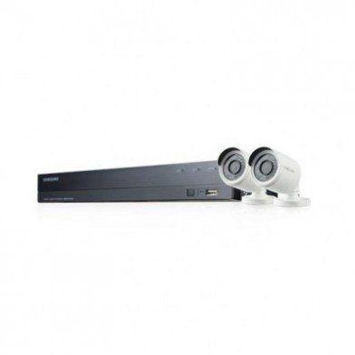Interieur Exterieur Filaire Sans Fil Blanc Noir Wisenet Interieur Et Exterieur Camera Surveillance Et Kit
