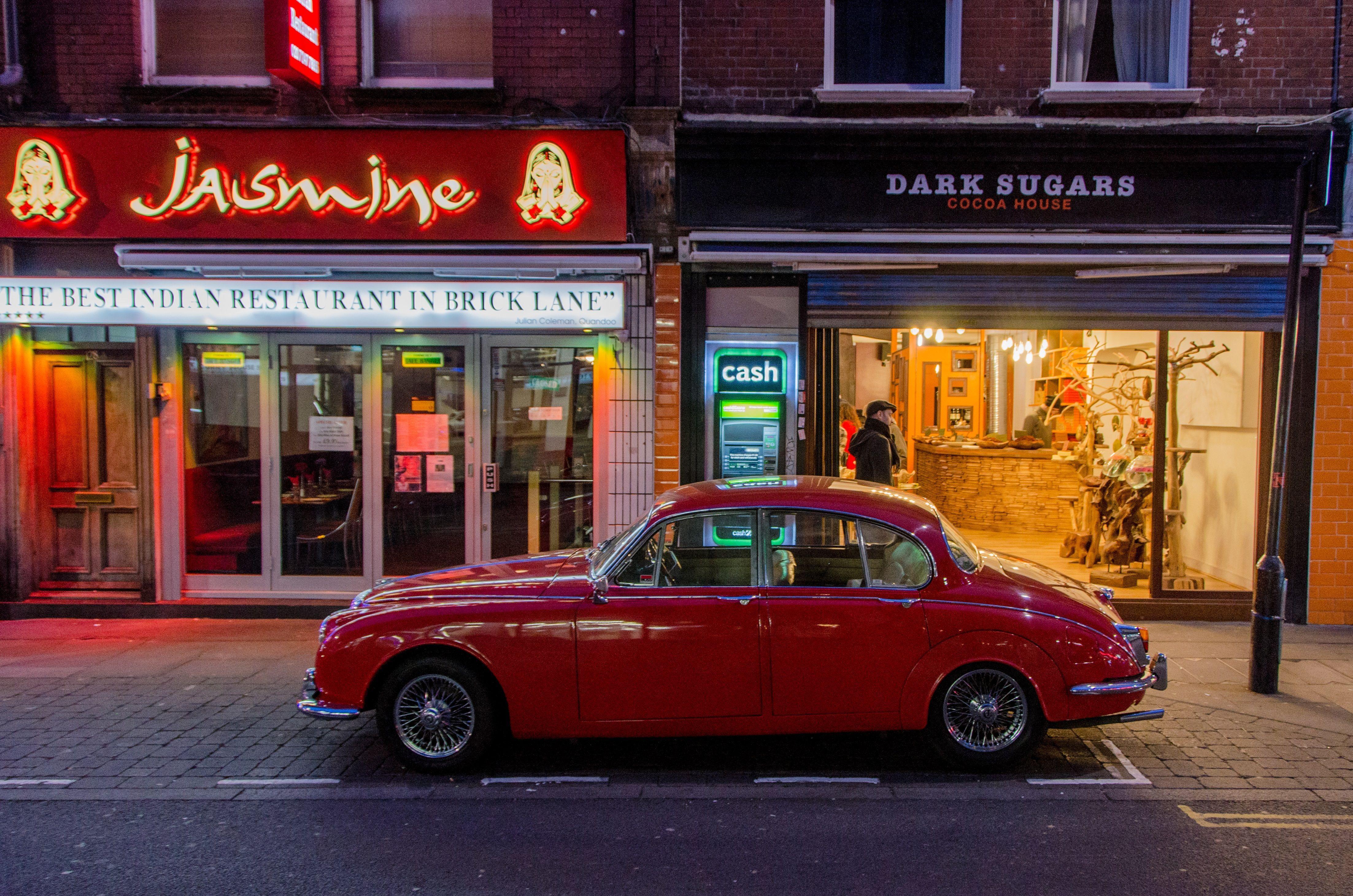 classic car in London