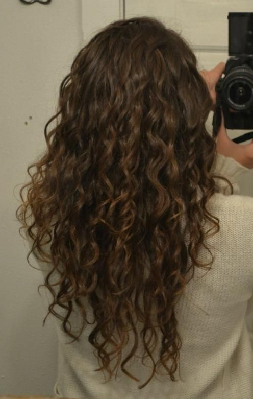 Image Result For 2c 3a Curly Hair Long Layers In 2019 3a