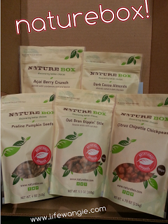 Life With Angie: How to Spend your Christmas Money! Includes Coupon Codes @NatureBox