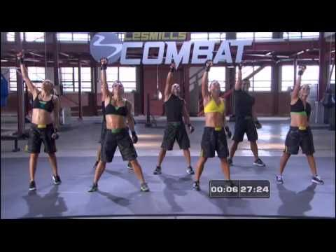 Les Mills Combat Combat 60 Les Mills Combat Kickboxing Workout Youtube