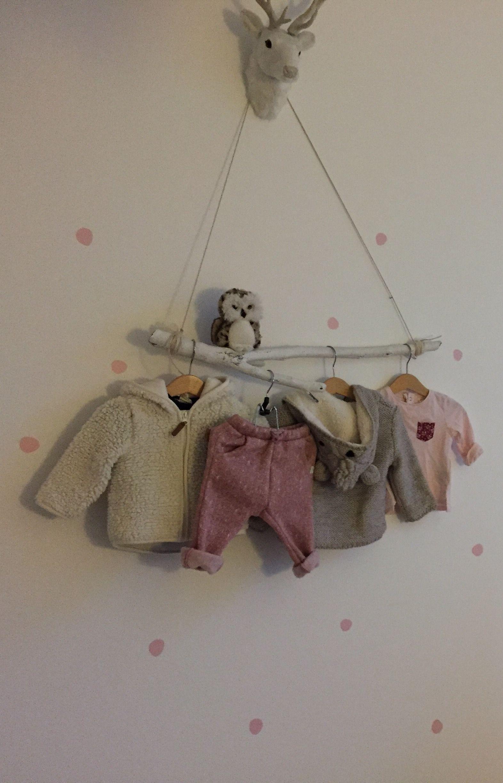 Kleiderstange Ast babyzimmer Kinderzimmer | kinderzimmer | Pinterest ...