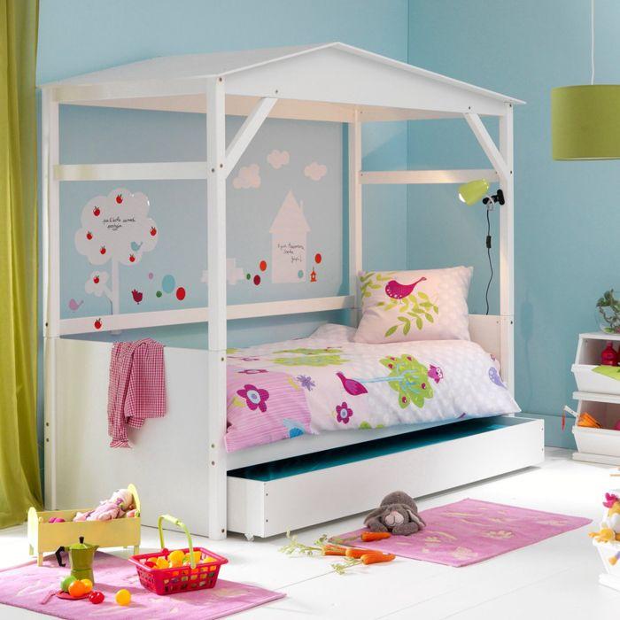 Chambre d 39 enfant les plus jolies chambres de petites filles ce lit cabane avec tiroir de - Chambre enfant la redoute ...