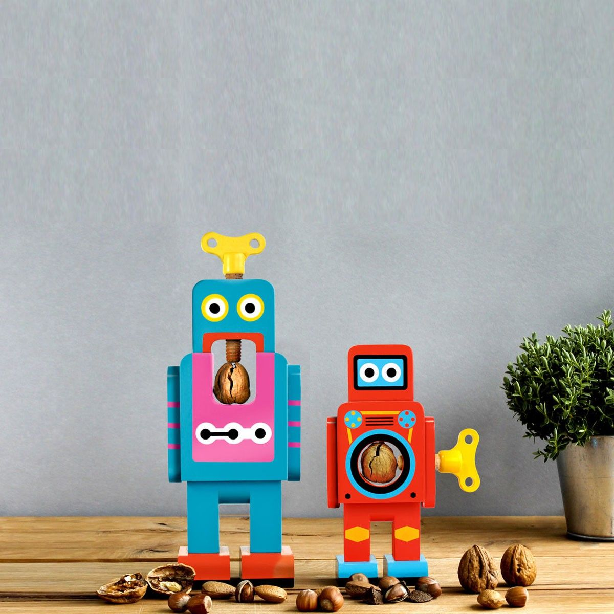 Robot - le casse-noisette - Cadeaux sur IdéeCadeau.fr