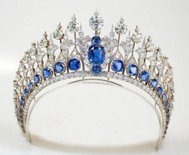 Queen Emma sapphire tiara