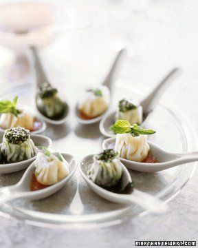 Broccoli Rabe Dumplings Recipe