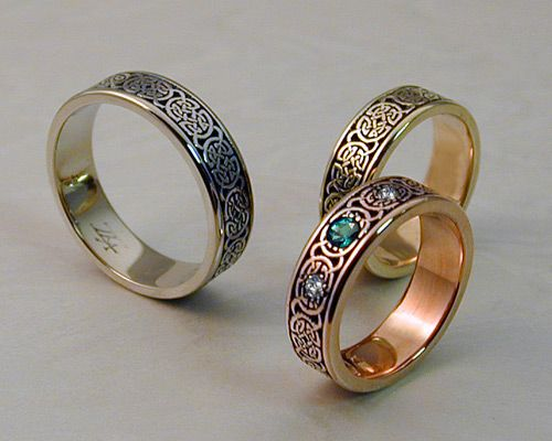 Celtic U0026 Viking Jewelry   Custom Made   Handcrafted Just For You ... Celtic Wedding  BandsWedding ...